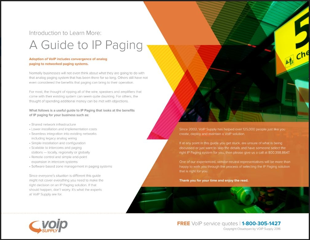 IP Paging Guide