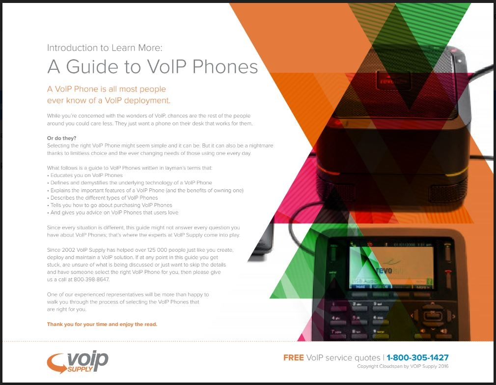 VOIP Phone Guide