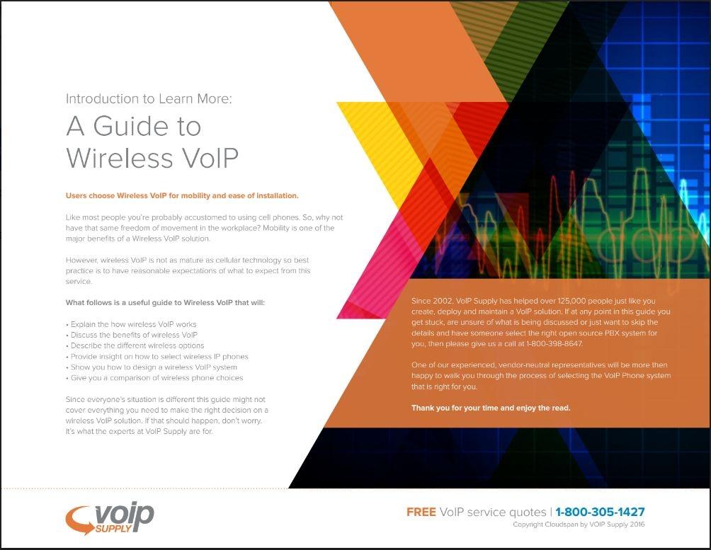 Wireless VoIP